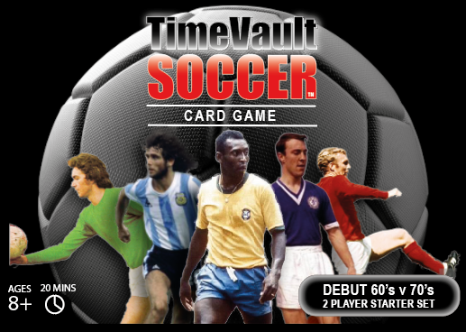 Time Vault Soccer table top card game Debut
