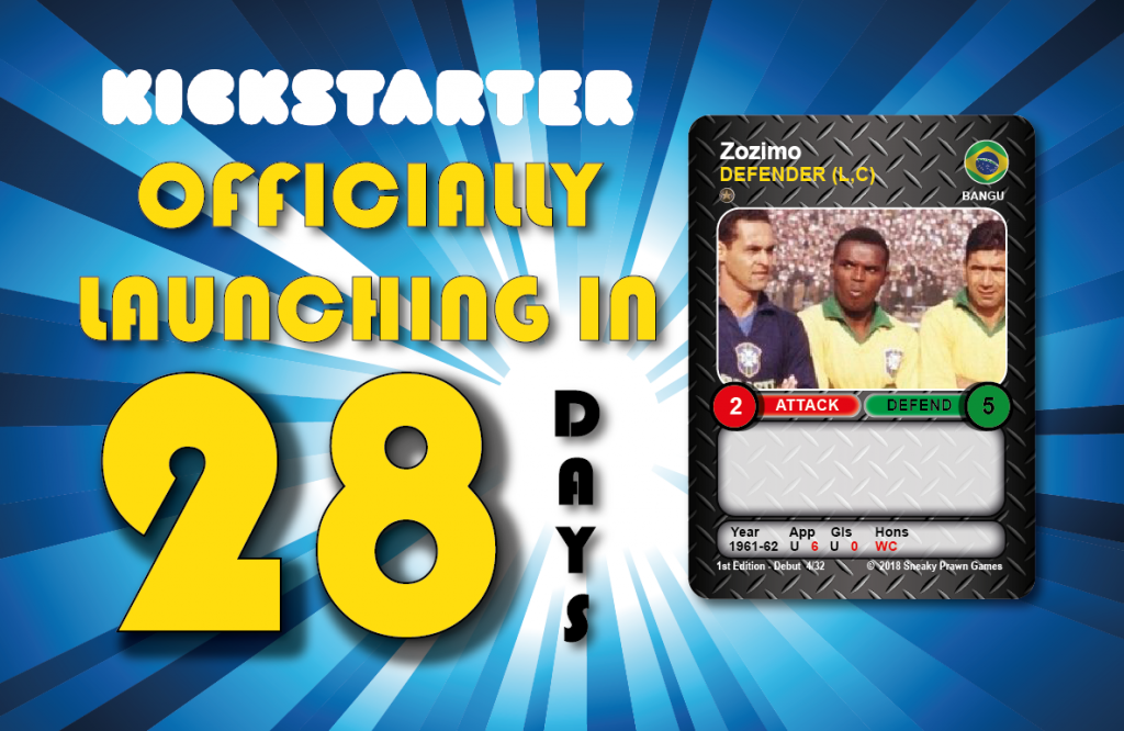 Time Vault Soccer Kickstarter countdown 28
