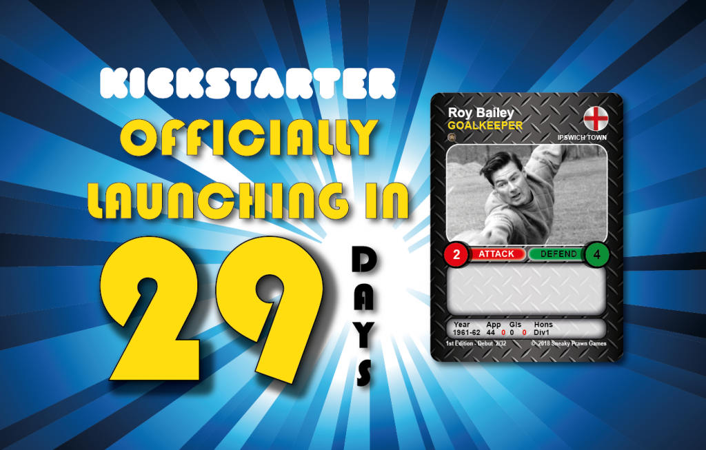 Time Vault Soccer Kickstarter countdown 29 Roy Bailey
