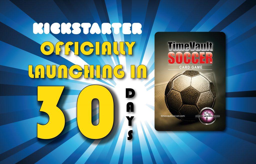 Time Vault Soccer Kickstarter countdown 30