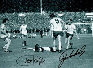 Arsenal 1971 FA Cup Charlie George goal celebration