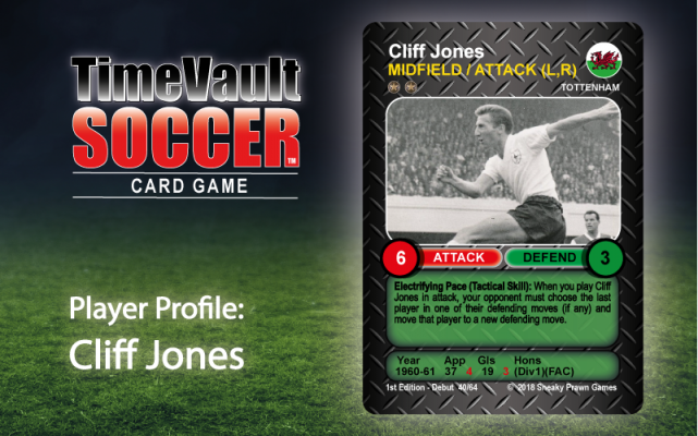 Cliff Jones Time Vault Soccer tabletop football card game