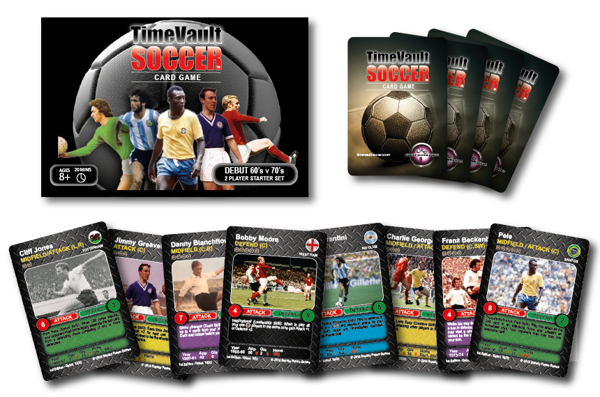 Time Vault Soccer Card Game Debut starter deck