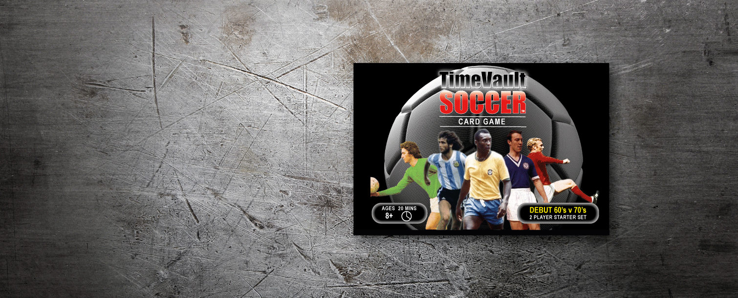 Time Vault Soccer tabletop football card game