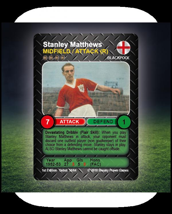 Time Vault Soccer tabletop football game Stanley Matthews 50.64