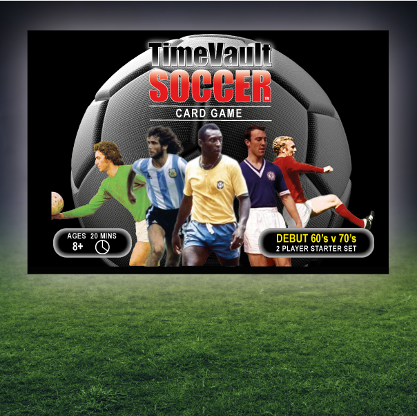 Time Vault Soccer 60s vs 70s starter box