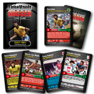 Time Vault Soccer tabletop football card game 80s expansion