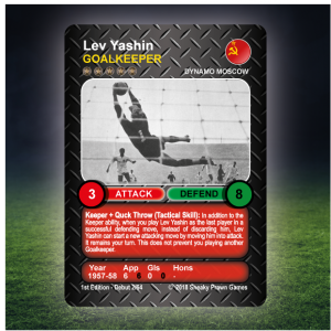 Time Vault Soccer tabletop football game Lev Yashin 64