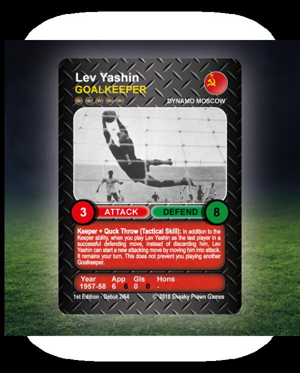 Time Vault Soccer tabletop football game Lev Yashin 64