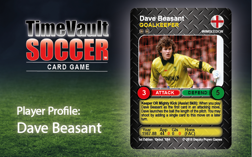 Dave Beasant 7.64 Time Vault Soccer Featured image