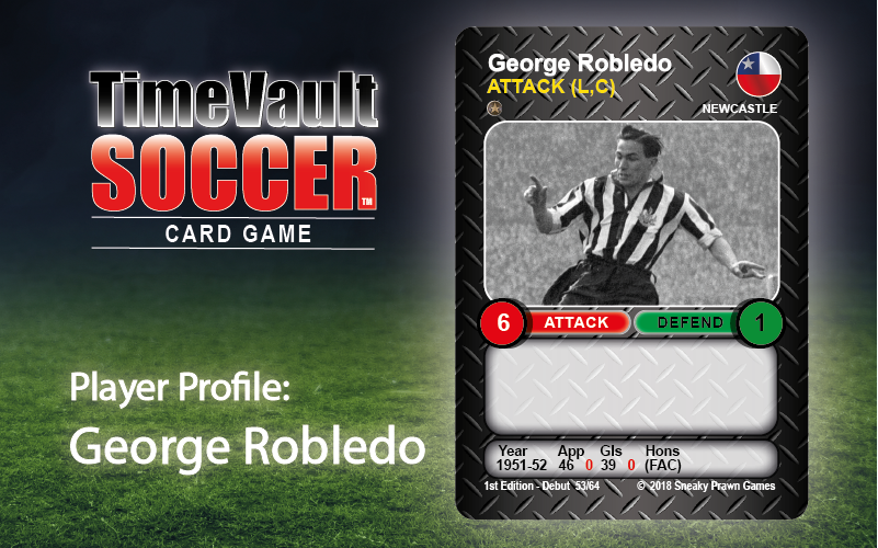 George Robledo 53.64 Time Vault Soccer Featured image