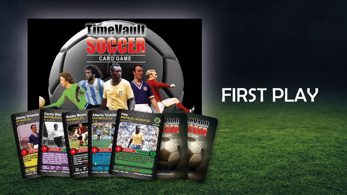 Time Vault Soccer Tabletop Card Game