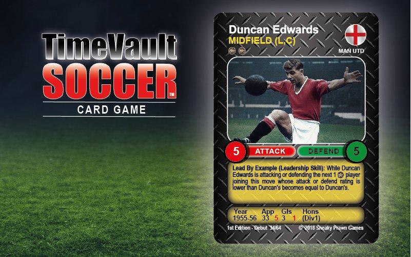Duncan Edwards Manchester Utd