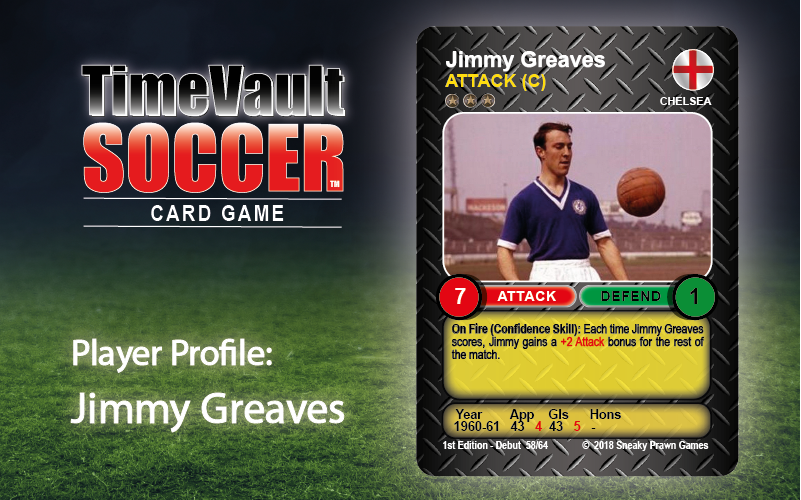 Jimmy Greaves Time Vault Soccer