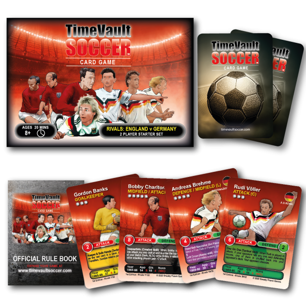 Time Vault Soccer football card game Rivals