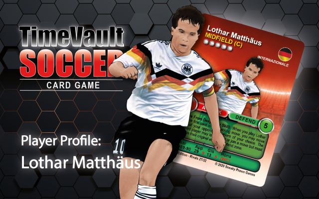 Lothar Matthaus classic football shirt