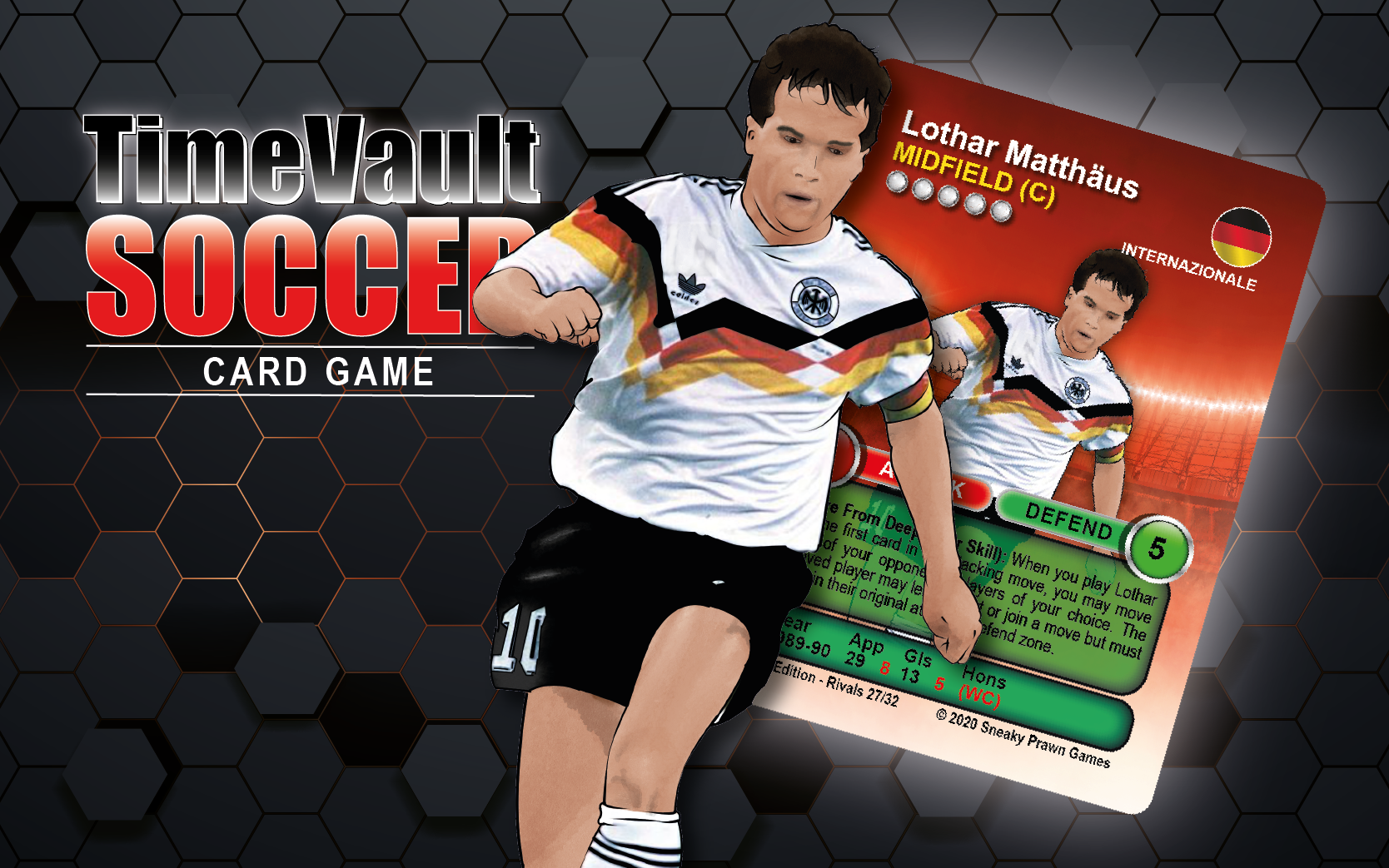 Lothar Matthaus football card game